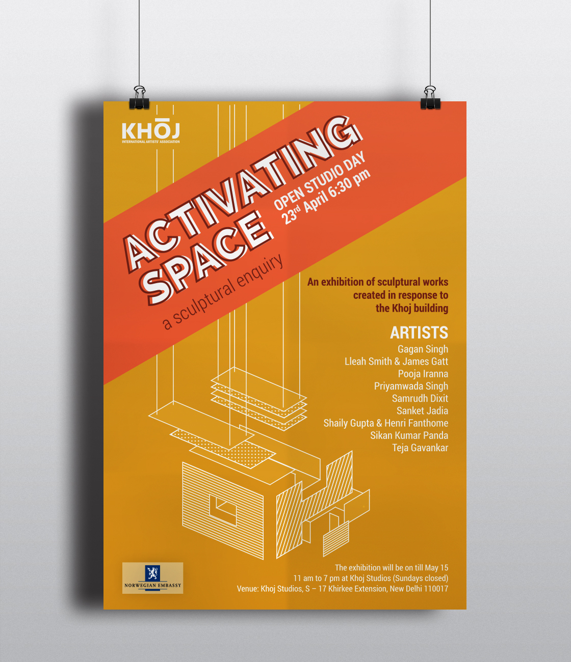 Activitaing Space Poster