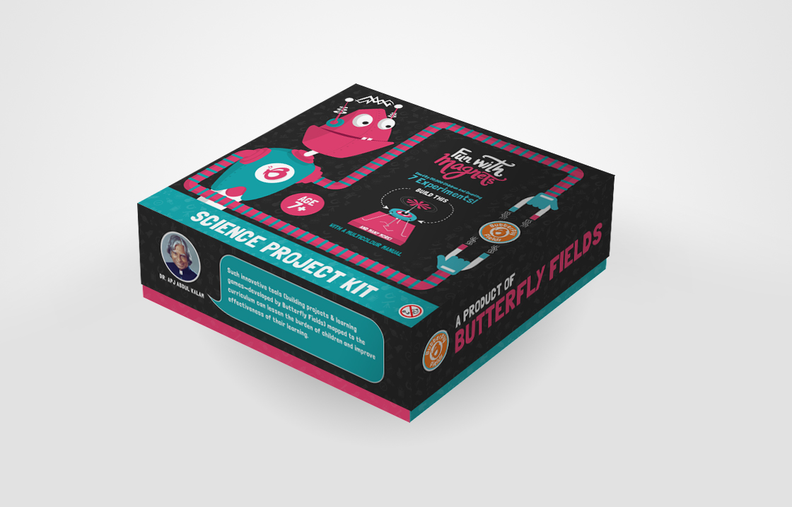Butterfly Fields Packaging Mockup