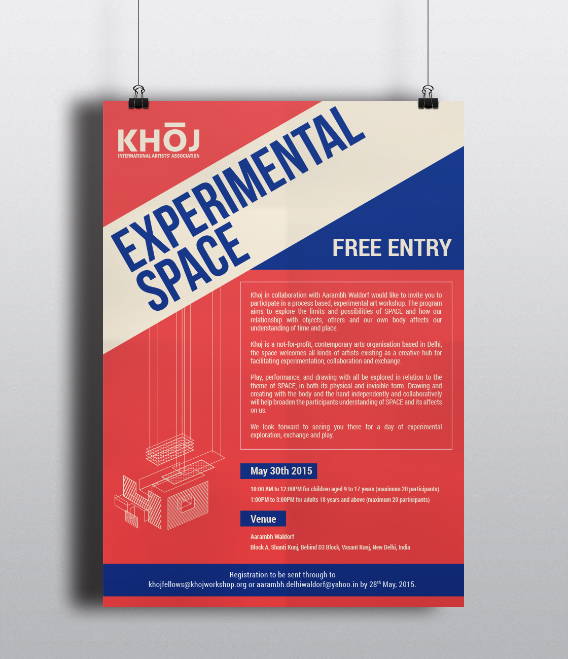 Experimental Space Poster