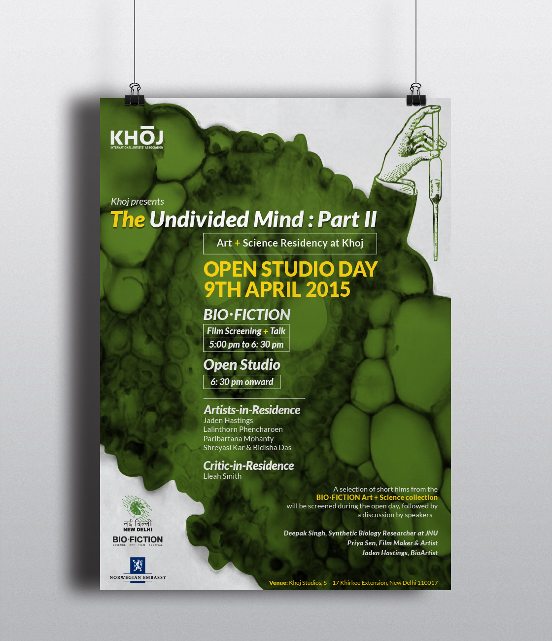 The Undivided Mind Poster