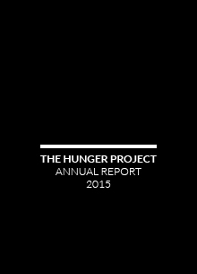 HUNGER PROJECT ANNUAL REPORT 2015