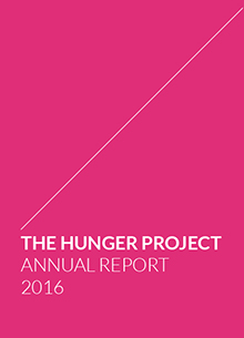 HUNGER PROJECT ANNUAL REPORT 2016