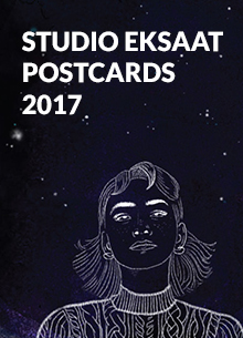 STUDIO EKSAAT 2017 POSTCARDS