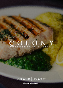 Colony clubhouse & grill, Hyatt Kochi